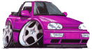 Gallery of Golf, Skyline and Modified Peugeot Cars on Girlsnmotors.co.uk