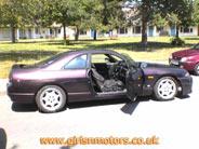 Mad Mechanic's Purple Nissan Skyline