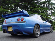 Pacers feature - Nissan Skyline R33 Gtst M Spec